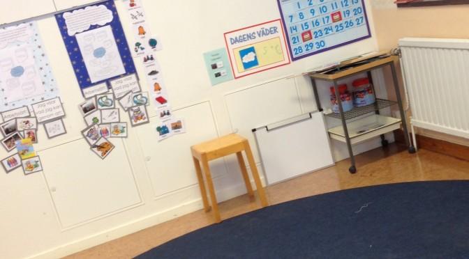 Ny utformning av klassrummet!