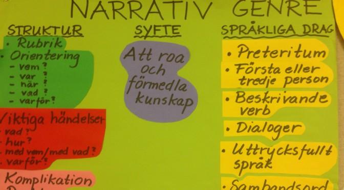 Genrepedagogik- den narrativa genren