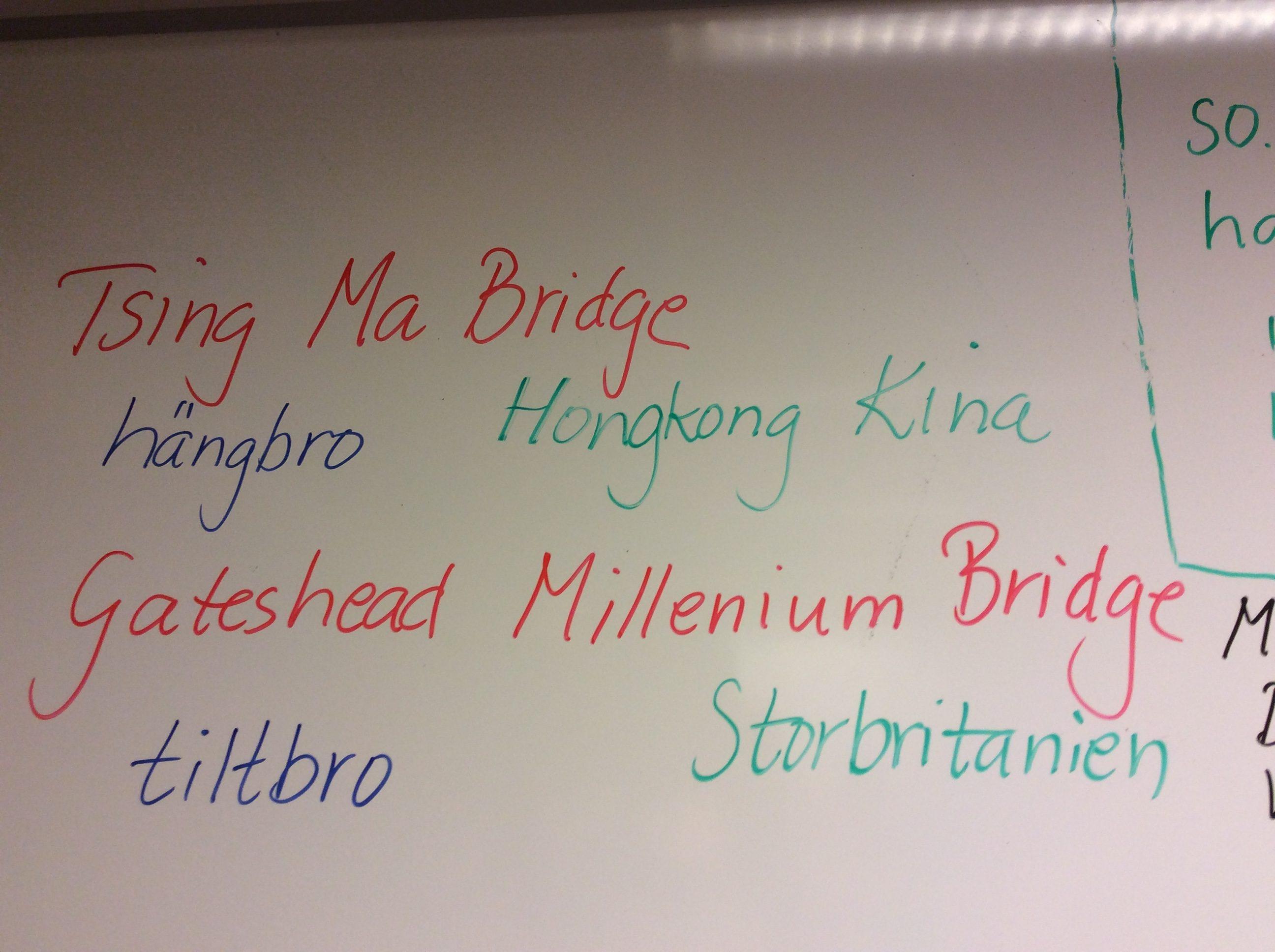 Teknik-bygga broar   Linds elev- och lärlyft