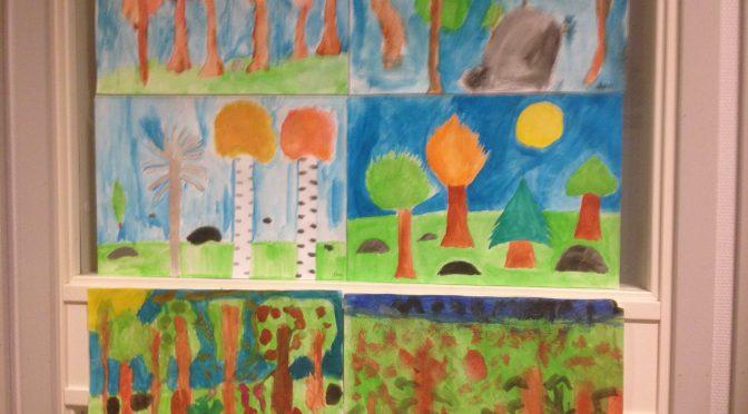 BILD- teckning, målning och collage