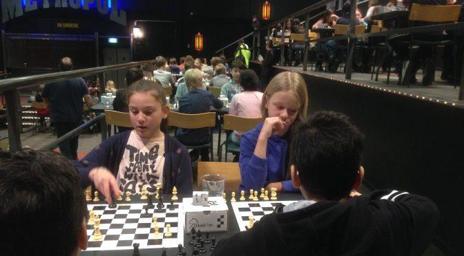 Schackfyran- första deltävlingen