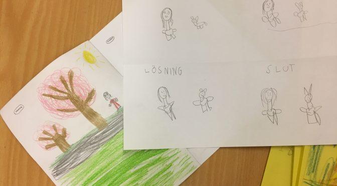 Vi skriver barnböcker under barnboksveckan