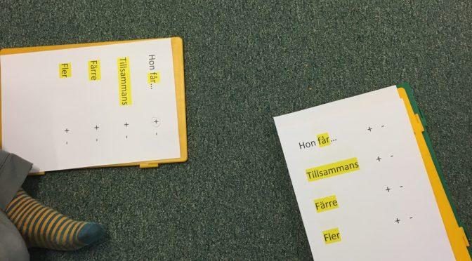 Genretänk i matten… Vilka ord signalerar vilket räknesätt?