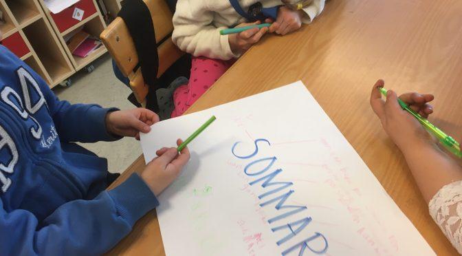 Progressiv brainstorming för att reda ut elevernas förkunskaper