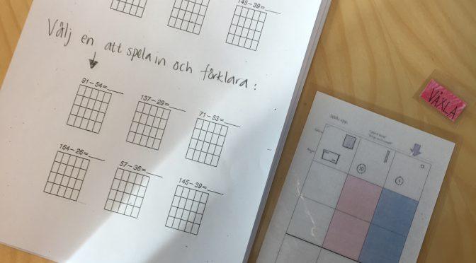 Språk- och kunskapsutvecklande arbetssätt i matten och ta med tankestrukturen in i klassrummet