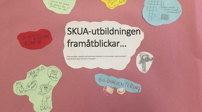 Sista träffen i SKUA-utbildningen kring planeringar och så reflektionssemenarium.