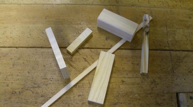 Diverse träslag och verktyg!