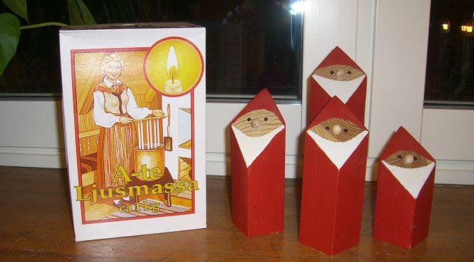 Ljusstöpning inför julhelgerna! :) :) .D